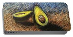 Avocado Study 2 Portable Battery Charger