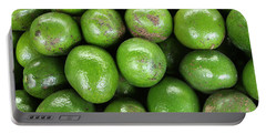 Avocados 243 Portable Battery Charger by Michael Fryd