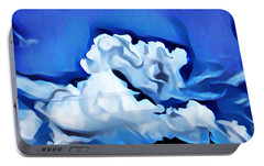 Portable Battery Charger featuring the digital art Awakening by Jeff Iverson