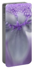 Awashed In Lavender Portable Battery Charger