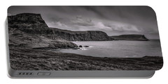 Portable Battery Charger featuring the photograph Away From Sun Bw #g9a by Leif Sohlman