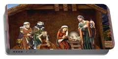 Away In The Manger Portable Battery Charger