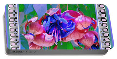 Portable Battery Charger featuring the photograph Awesome Blooms by Shirley Moravec