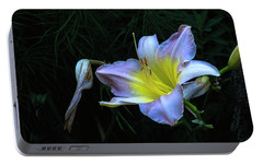 Portable Battery Charger featuring the photograph Awesome Daylily by Tom Singleton