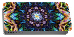 Portable Battery Charger featuring the digital art Awestruck by Kiki Art