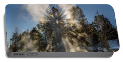 Portable Battery Charger featuring the photograph Awestruck by Sue Smith