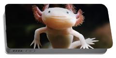 Axolotl Face Portable Battery Charger