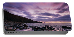 Ayrshire Sunset - Scotland Portable Battery Charger
