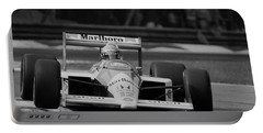 Ayrton Senna. 1988 Italian Grand Prix Portable Battery Charger