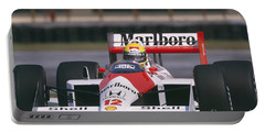 Ayrton Senna. 1988 Mexican Grand Prix Portable Battery Charger