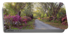 Azalea Lane By H H Photography Of Florida Portable Battery Charger