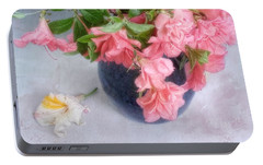 Portable Battery Charger featuring the photograph Azalea Time by Louise Kumpf