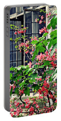 Azaleas At The Window   Portable Battery Charger by Sarah Loft