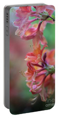 Azaleas Cluster Of Flowers Portable Battery Charger by Mike Reid