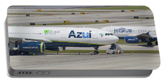 Azul Jet Blue Portable Battery Charger