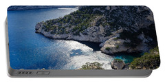 Azure Calanques Portable Battery Charger