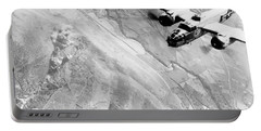B-25 Bomber Over Germany Portable Battery Charger