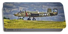 B-25 Landing Akron/canton Ohio Portable Battery Charger