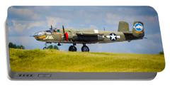 B-25 Landing Original Portable Battery Charger