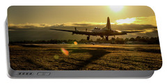B17 Landing At Livermore Portable Battery Charger
