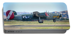 B24 Liberator Takeoff At Livermore Portable Battery Charger