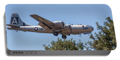B29 Superfortress Short Final At Modesto Portable Battery Charger