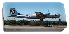 B29 Superfortress Takeoff At Modesto Portable Battery Charger