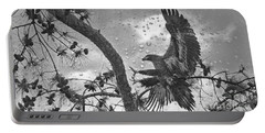Portable Battery Charger featuring the photograph B3 Landing by Geraldine DeBoer