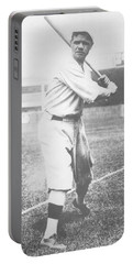 Babe Ruth Portable Battery Charger by American School