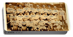 Portable Battery Charger featuring the photograph Babe Ruth Boston Red Sox American League Champions Season 1915 by Peter Gumaer Ogden