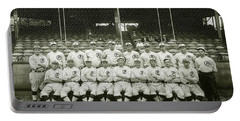 Babe Ruth Providence Grays Team Photo Portable Battery Charger