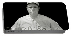 Babe Ruth Red Sox Portable Battery Charger
