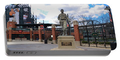Portable Battery Charger featuring the photograph Babes Dream - Camden Yards Baltimore by Bill Cannon