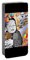 Baby Dreams Portable Battery Charger by Vennie Kocsis