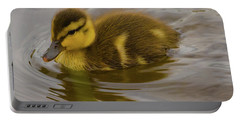 Baby Duck Portable Battery Charger by John Roberts