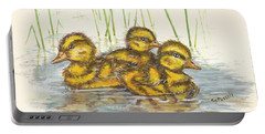 Baby Ducks For Ma Portable Battery Charger