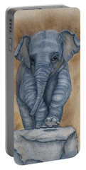 Baby Elephant  Portable Battery Charger