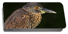 Portable Battery Charger featuring the photograph Baby Face - Yellow-crowned Night Heron  by HH Photography of Florida