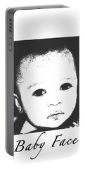 Baby Face Portable Battery Charger