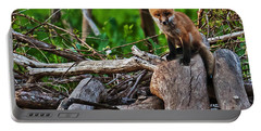 Baby Fox Portable Battery Charger