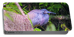 Baby Great Blue Heron - Ardea Herodias Portable Battery Charger