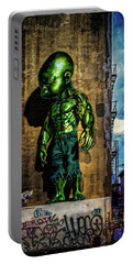 Portable Battery Charger featuring the photograph Baby Hulk by Chris Lord