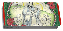 Baby Jesus In Medjugorje Portable Battery Charger