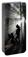 Portable Battery Charger featuring the photograph Baby Magic 589 by Ericamaxine Price