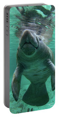 Baby Manatee Portable Battery Charger by Tim Fitzharris