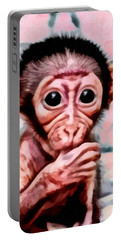 Baby Monkey Realistic Portable Battery Charger