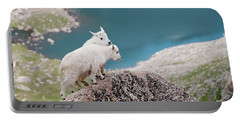 Baby Mountain Goats Portable Battery Charger