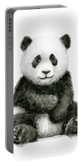 Baby Panda Watercolor Portable Battery Charger
