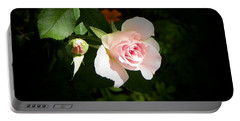 Baby Pink Rose Portable Battery Charger