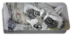 Baby Raccoon Portable Battery Charger